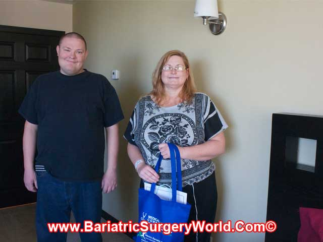 Post Gastric Sleeve in Tijuana - Carry with her Bro